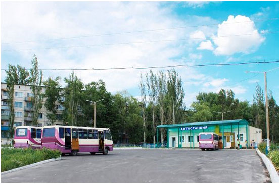 Город Угледар, Донецкая область.