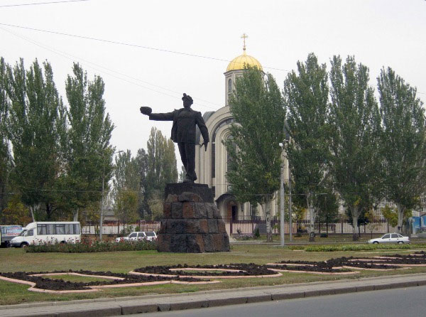 Памятник «Слава Шахтерскому труду» в Донецке