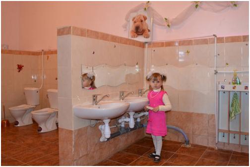 Фото в туалете в детском саду