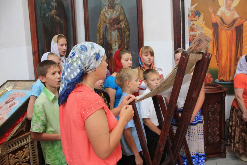 нас можете что петь детям на литургии сайте
