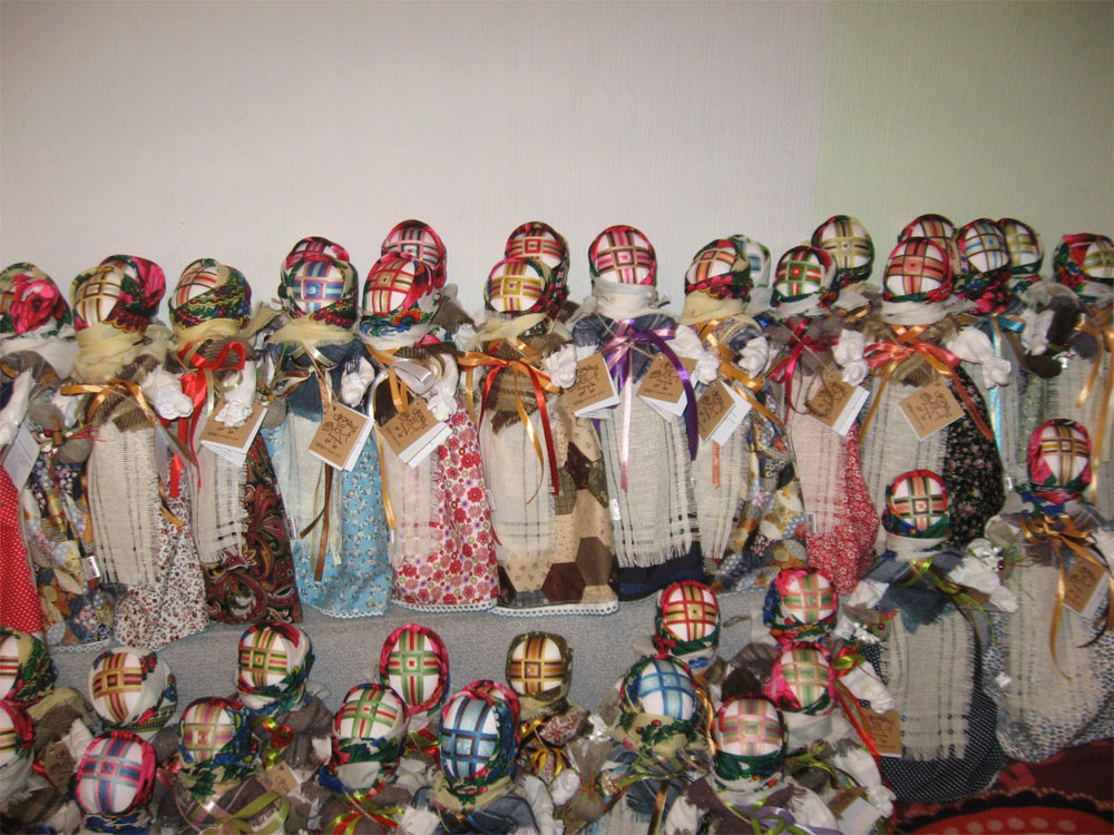 Прошел мастер - класс по изготовлению куклы - мотанки