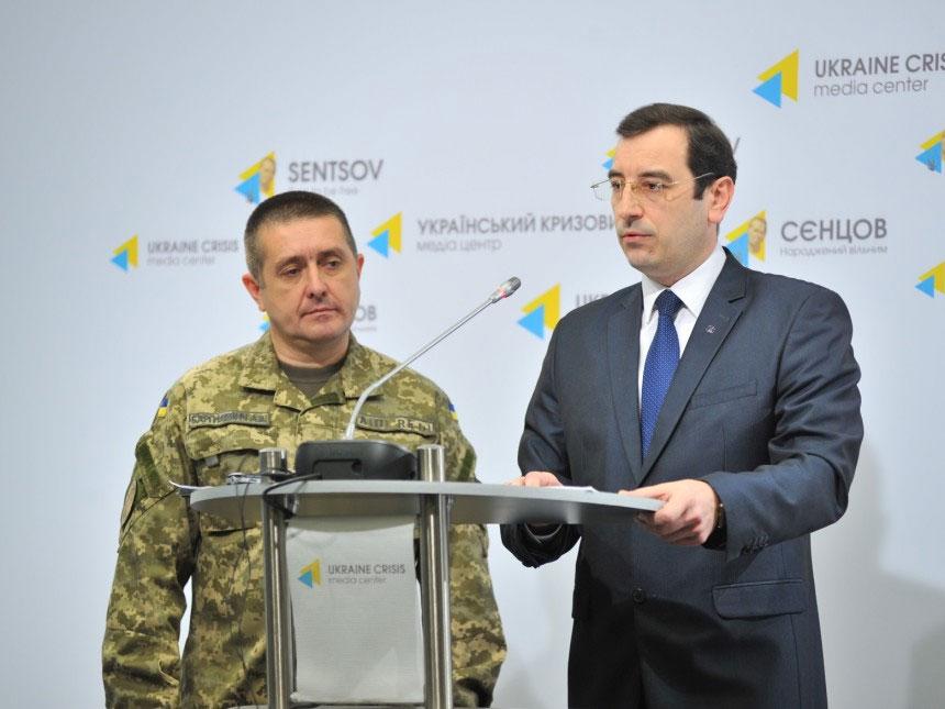 Киев обвинил Россию в подготовке химической атаки в Донбассе
