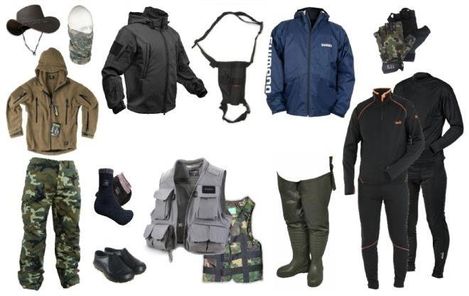 Как выбрать одежду для рыбалки в холодное время года?