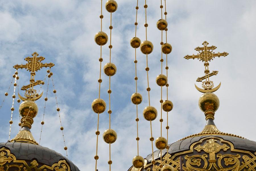 кресты на российских церквях фото указанной